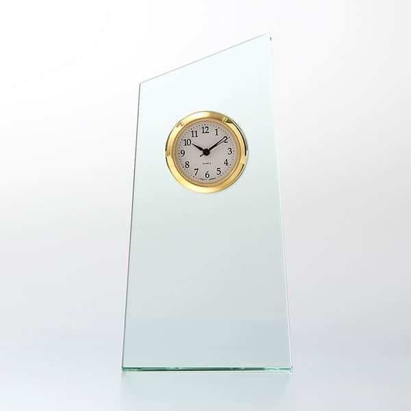 ガラス製 FLトロフィー セイコータイムクリエーション社製時計付