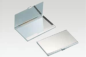 メタルカードケース 蓋,真鍮ニッケルメッキ