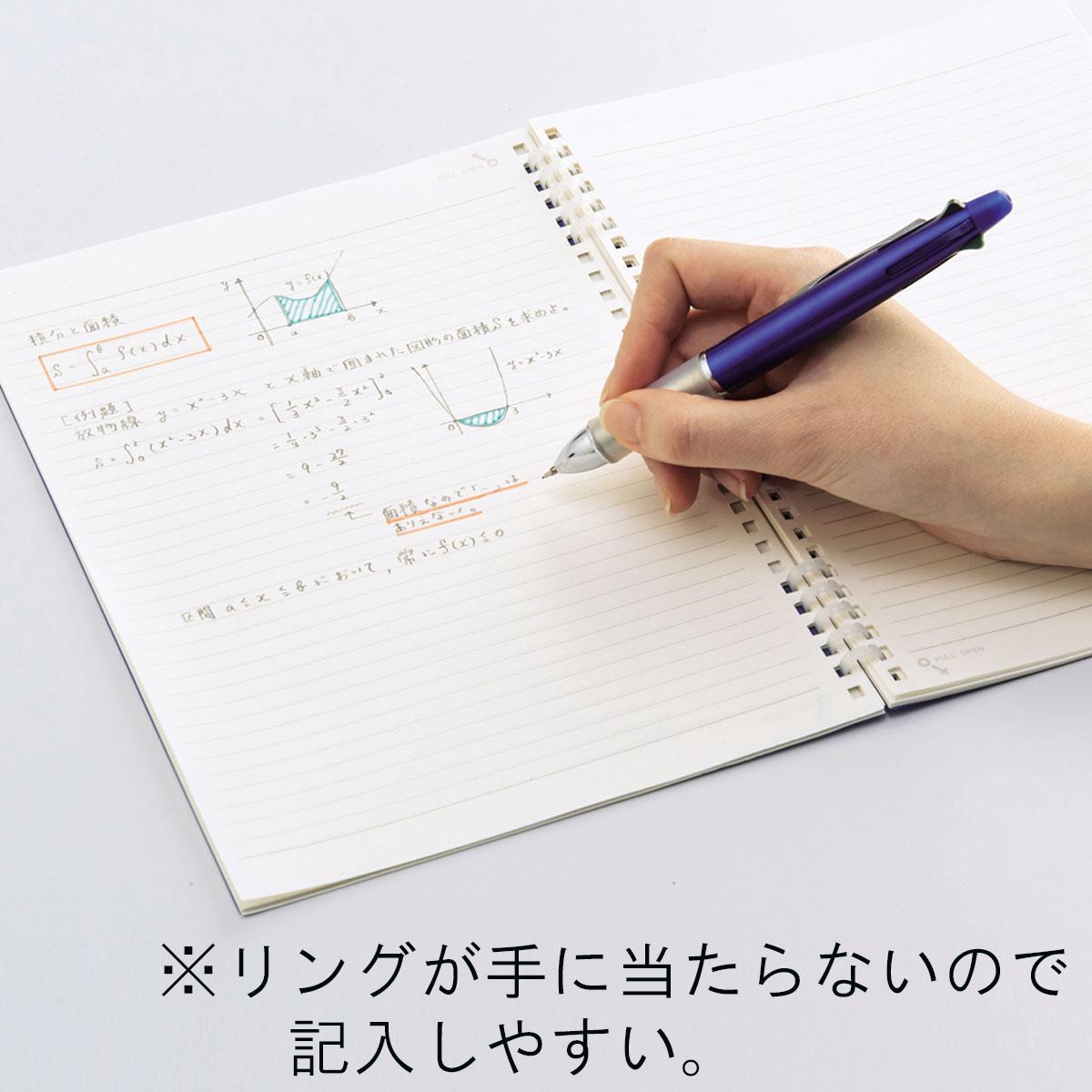 リヒトラブ ツイストノート パセリ セミB5