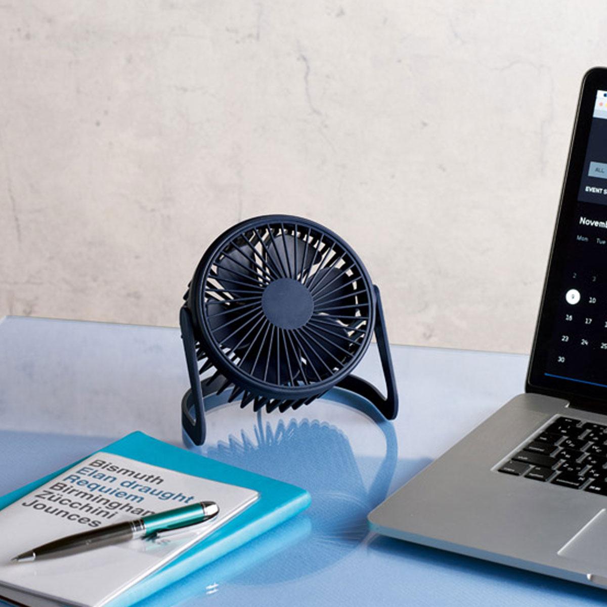 USB充電式 デスクトップファン