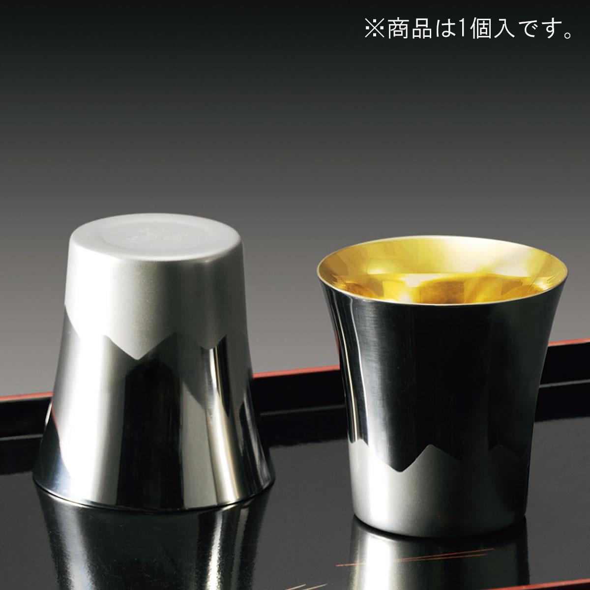 サエ 二重構造タンブラー 260ml(富士山・内面ゴールド)