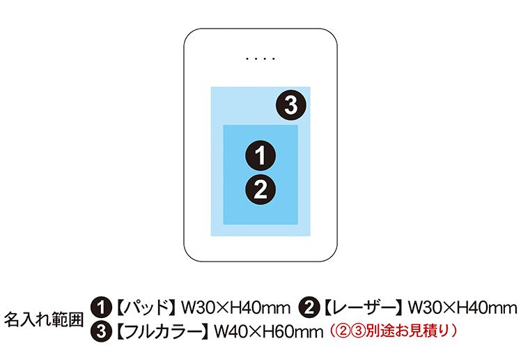 最大3台同時充電 モバイルバッテリー 10000mAh