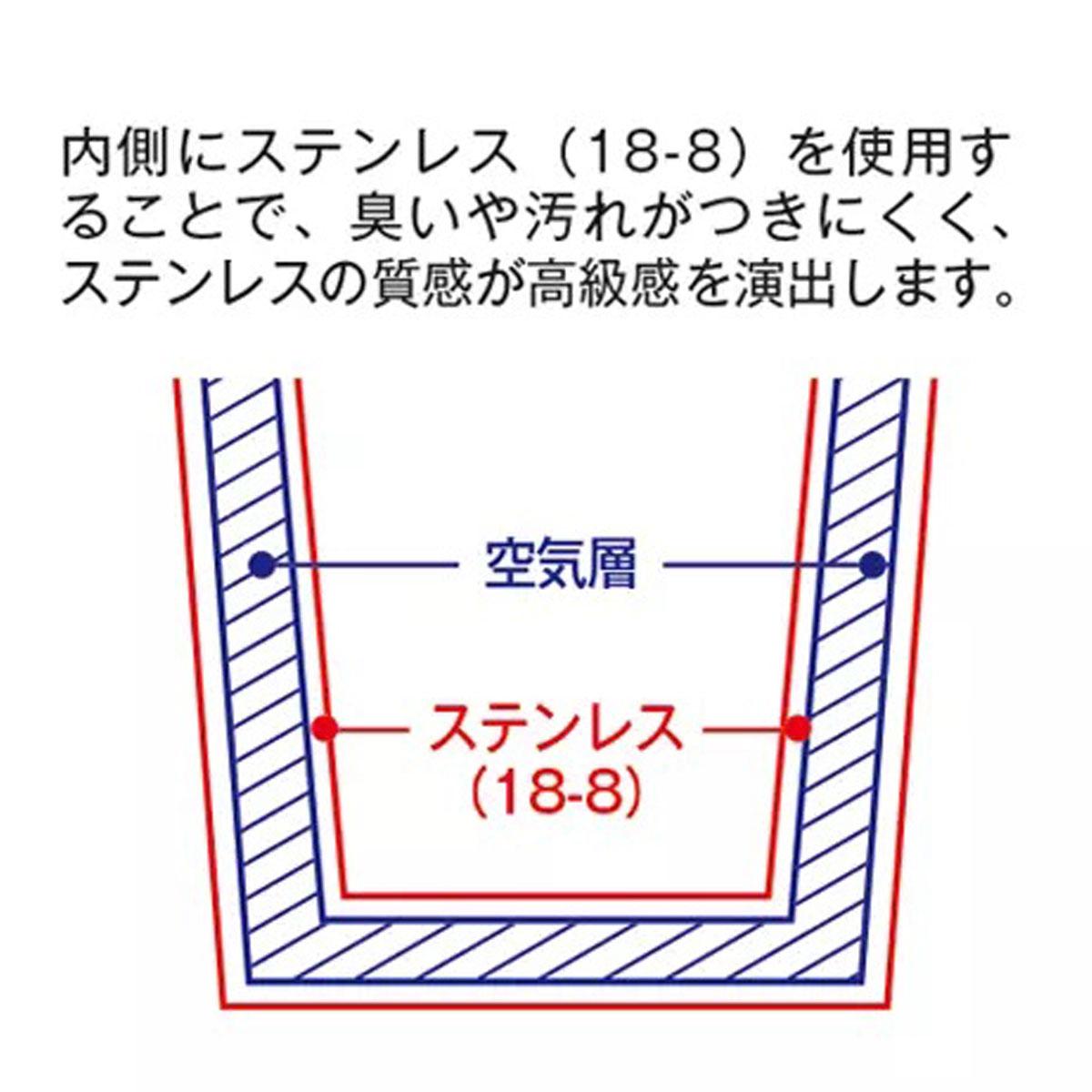 蓋付き 二重構造ステンレスタンブラー 350ml