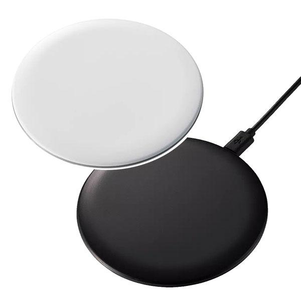 Qi対応 ワイヤレス充電器 ラウンド