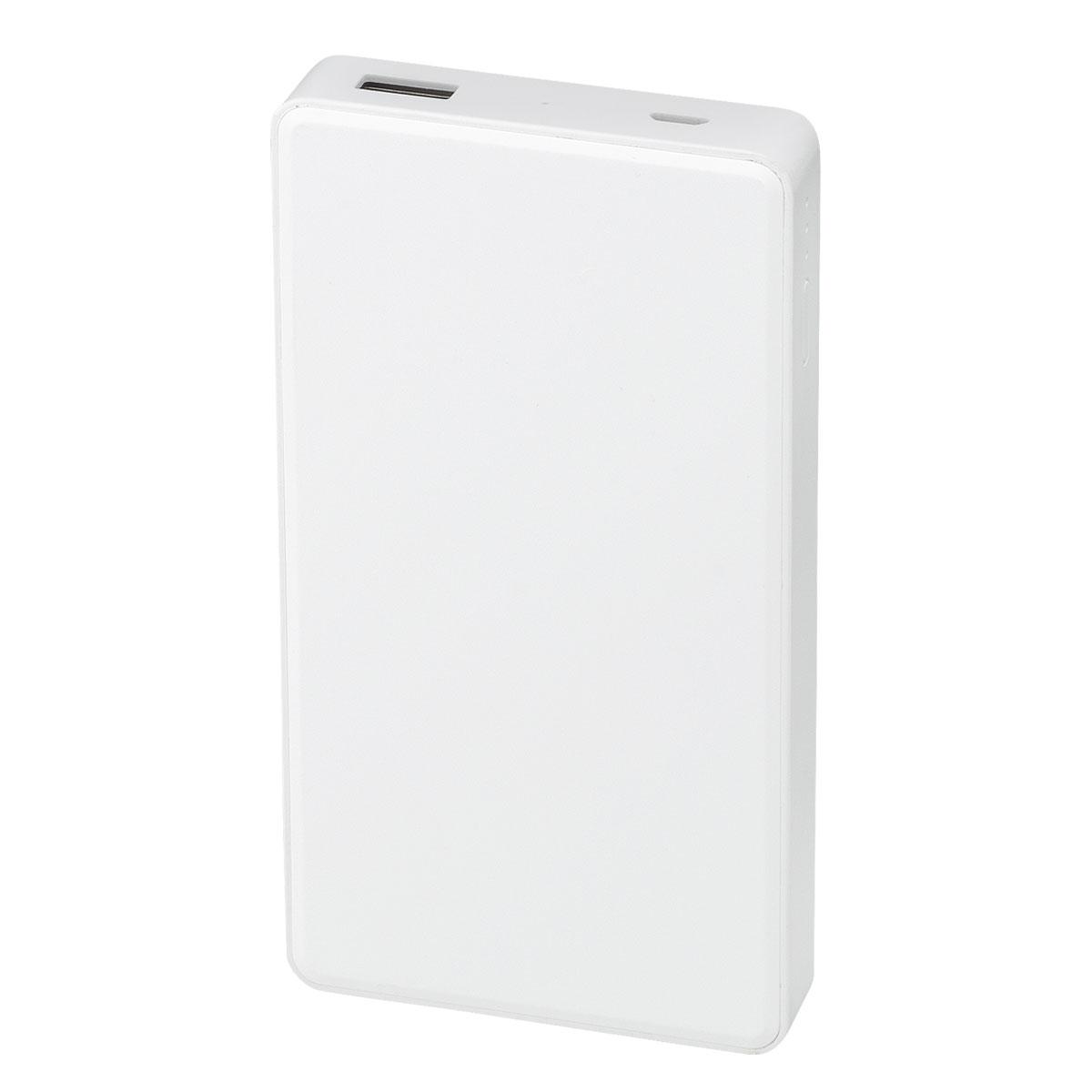 QI(チー)対応 モバイルバッテリーチャージャー6000mAh