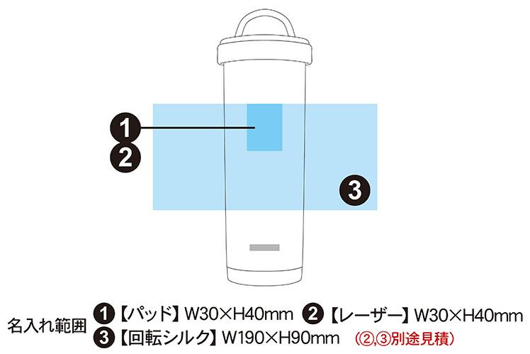 ピーコック タンブラーボトル 500ml AKS-R50