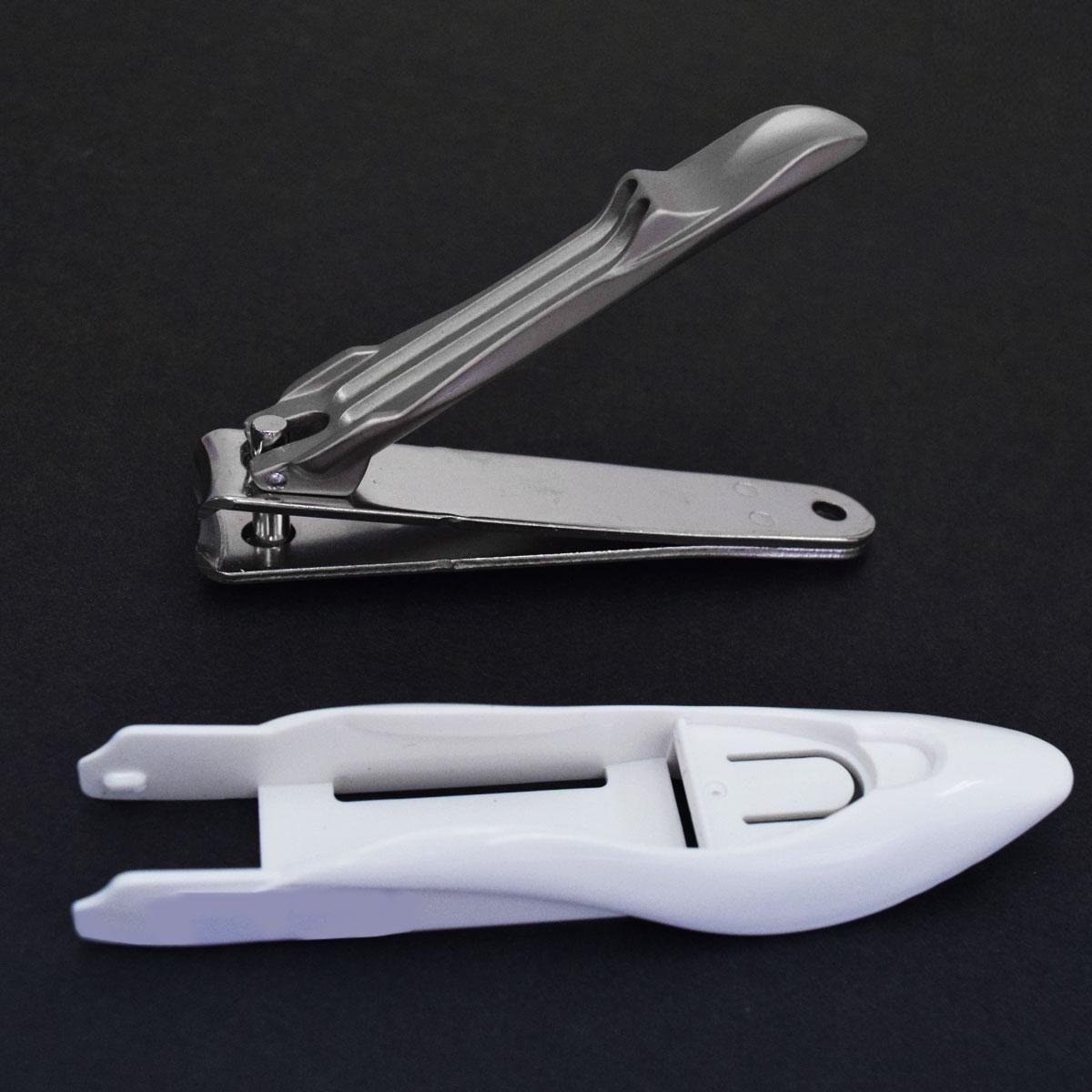 グルーミングキット キャッチャー付き爪切り・ステンレス製爪やすり(国産)