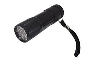アルミ製強力9光LEDライト