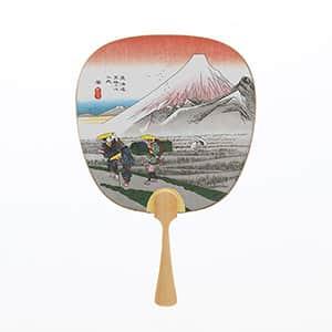 中型うちわ 東海道 原