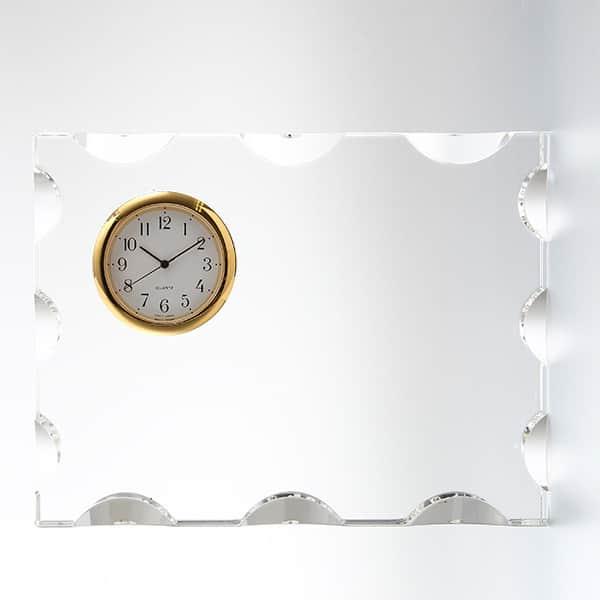 カットスクエアクロック(S) SEIKO時計付