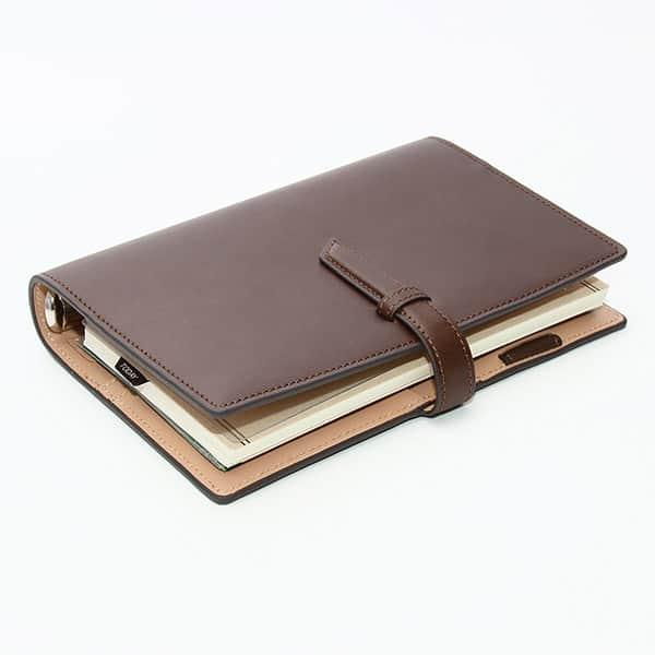 ダ・ヴィンチグランデ 聖書サイズ システム手帳 リング24mm