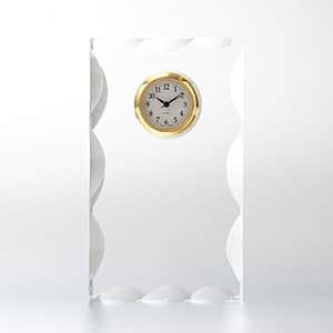 カットスクエアクロック SS SEIKO時計付