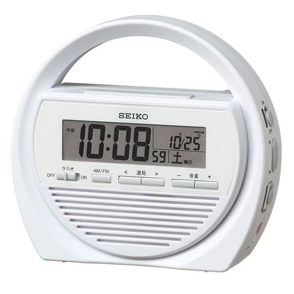 セイコークロック 電波防災時計 SQ764W