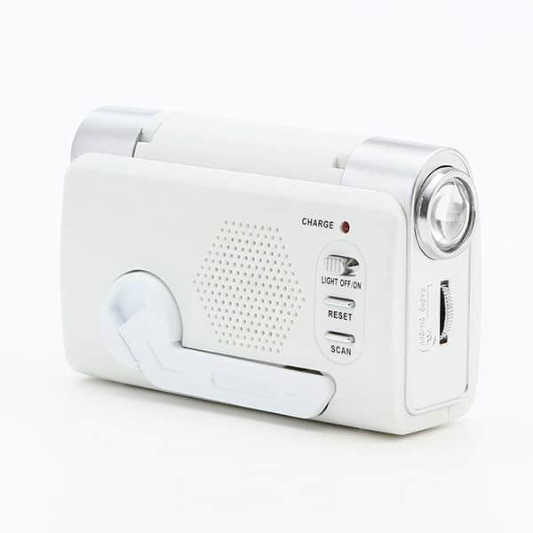 【在庫限り9台限定特価】ダイナモFMラジオトーチ 充電機能付(携帯・iPod)