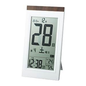 デジタル日めくり電波時計