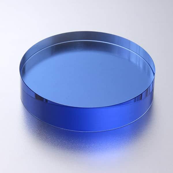 ガラスペーパーウェイト ブルー