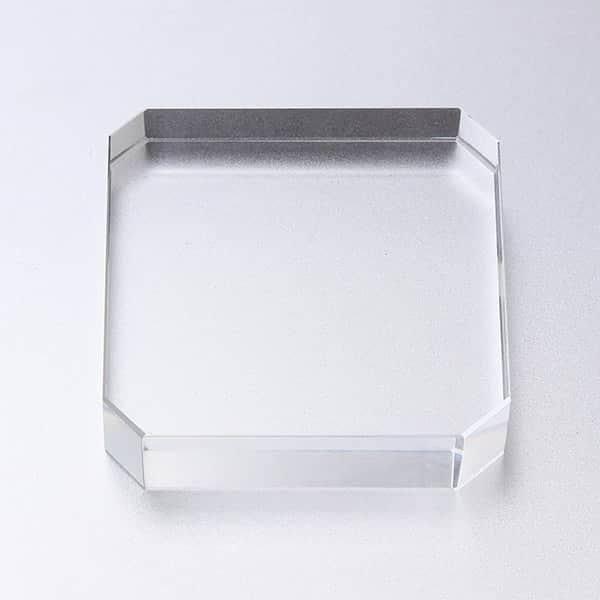 ガラスペーパーウェイト角型