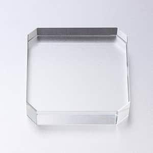 ガラスペーパーウェイト 角型