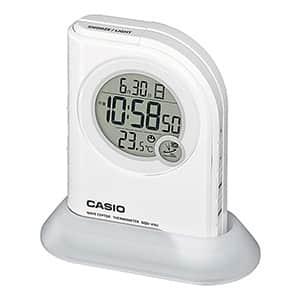カシオ 懐中電灯LEDライト付電波クロック DQD410J-7JF