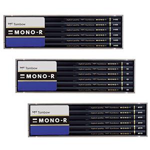 トンボ鉛筆 高級鉛筆 モノR 12本入