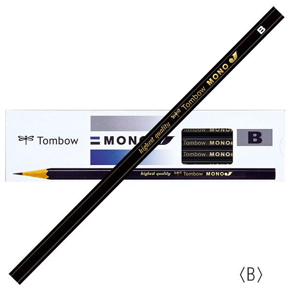 トンボ鉛筆 スタンダード鉛筆 モノJ 12本入