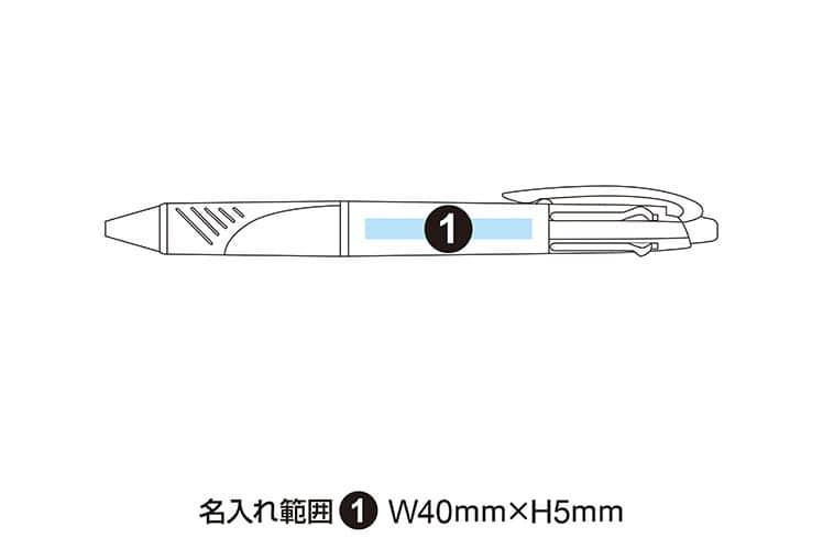 三菱鉛筆 ジェットストリーム 3&1 4機能ペン MSXE4-600