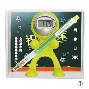 【オリジナル台紙付】クロックレンジャー 三菱鉛筆クルトガ