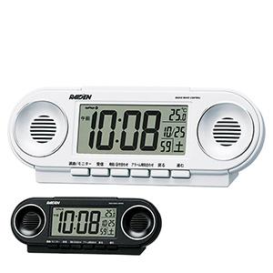 セイコークロック社製 ライデン 電波目覚まし時計 NR531