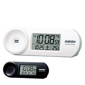 セイコークロック社製 ライデン 電波目覚まし時計 NR532