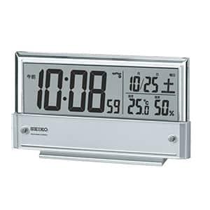 セイコークロック 温湿度表示付き電波時計 SQ773S