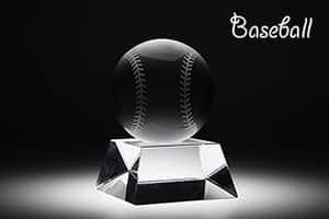 スポーツトロフィーL 野球 彫刻20文字まで