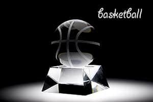 スポーツトロフィーL バスケット 彫刻20文字まで