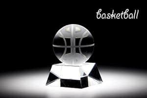 スポーツトロフィーS バスケット 彫刻20文字まで