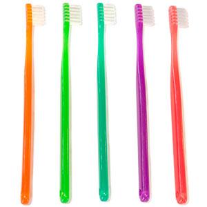 キャップ付カラー歯ブラシ