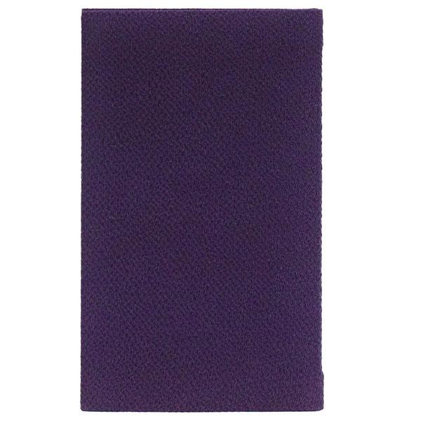 丹後ちりめん金封ふくさ 紫(裏地,鮫小紋)