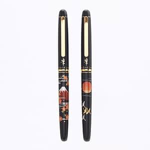 プラチナ万年筆 新毛筆(近代蒔絵) 筆ペン CF-4000M