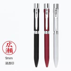 タニエバー スタンペン4F metal(メタル) 浸透印&多機能ペン