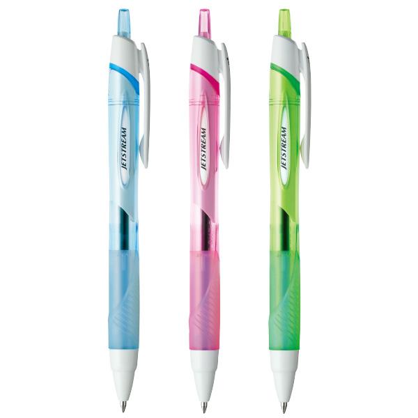 三菱鉛筆 ジェットストリーム 油性ボールペン黒0.7 クリア