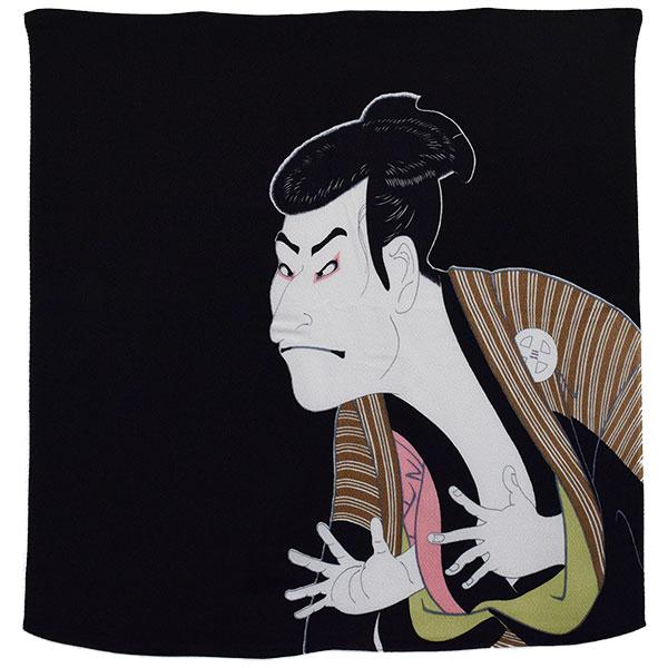 丹後ちりめん浮世絵ふろしき(二巾)