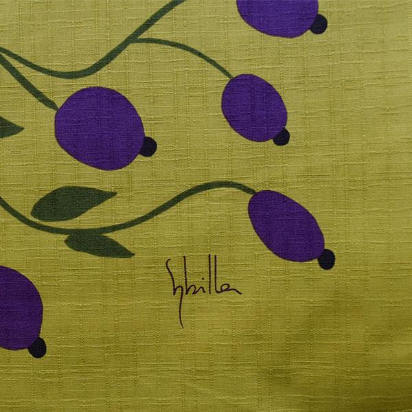 シビラ 綿二巾ふろしき GROSELLA グロセイヤ W750×H750mm
