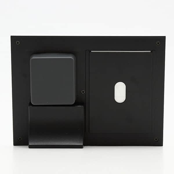 【オリジナル曲】フォトフレーム付きオルゴール クリアサウンドQ 時計付き