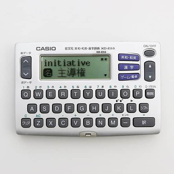 英和・和英・漢字辞典を収録 カシオ EX-word 電子辞書 XD-E55