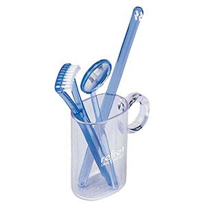 携帯用歯磨きセット 舌ブラシ・ミラー付