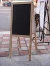 木框黑板展示架