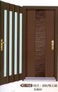 雙彩皮磚雙玄關門3