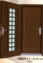 鑄板壓花雙玄關門3