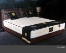 雙人造型床架(皮) 040