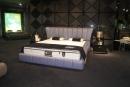 雙人造型床架(皮) 043