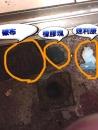水管疏通取出阻塞物