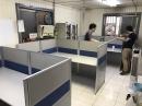 辦公桌矮屏風2